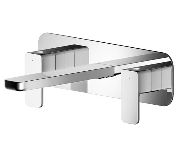 Alternate image of Nuie Windon Wall Mounted Basin Mixer Tap