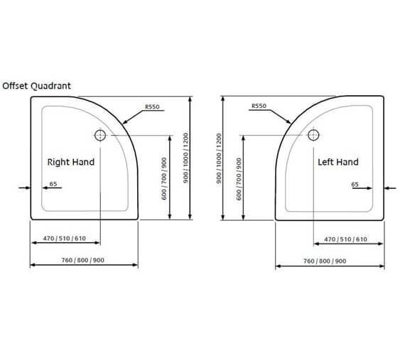 Technical drawing QS-V9282 / TQ9076L-ELD