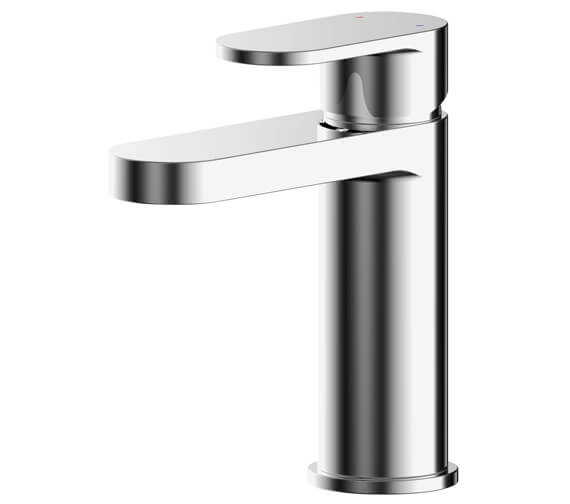 Additional image of Nuie Binsey Single Lever Basin Mixer Tap With Push Button Waste
