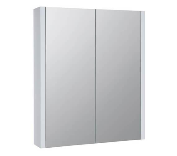 Kartell K-Vit Purity Double Door Bathroom Mirror Cabinet