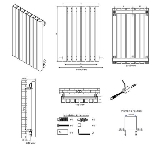 Technical drawing QS-V96227 / KRE2466S