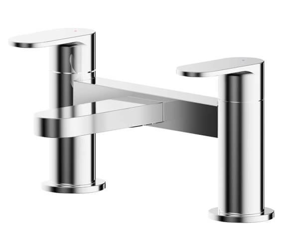 Nuie Binsey Dual Lever Deck Mounted Bath Filler Tap