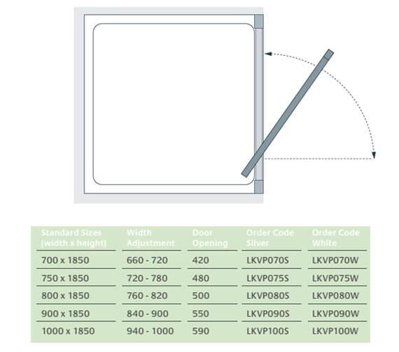 Technical drawing QS-V25082 / LKVP070S