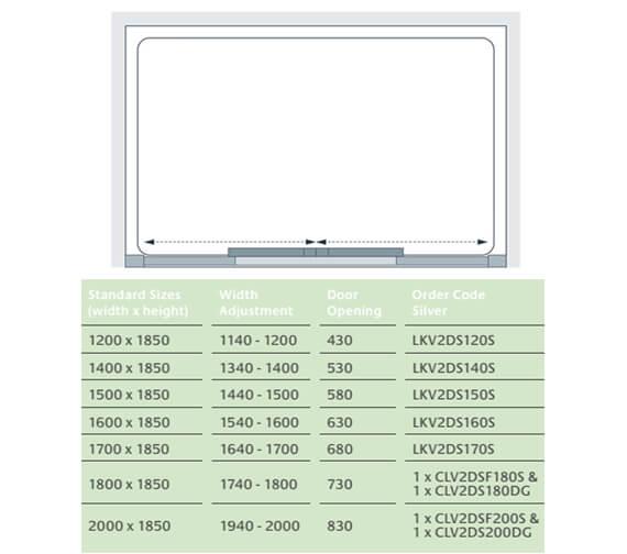 Technical drawing QS-V25096 / LKV2DS120