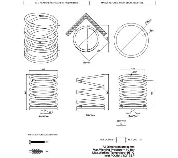 Technical drawing QS-V96226 / HEL065S