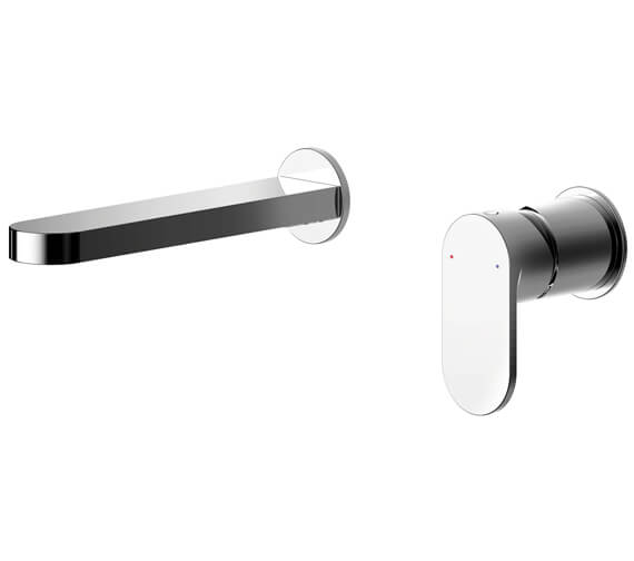 Nuie Binsey Wall Mounted Basin Mixer Tap