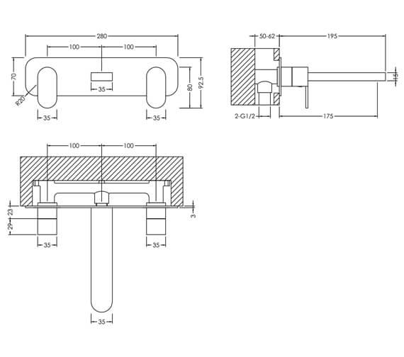 Additional image for QS-V98607 Nuie Bathroom - BIN381