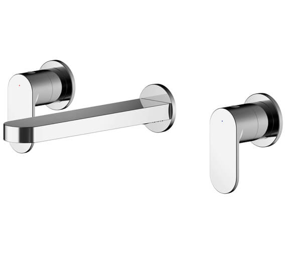 Alternate image of Nuie Binsey Wall Mounted Basin Mixer Tap