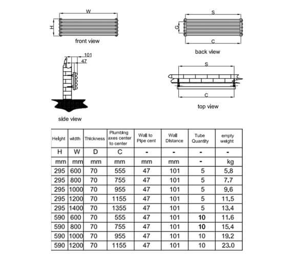 Technical drawing QS-V95313 / RND-RDA506SW