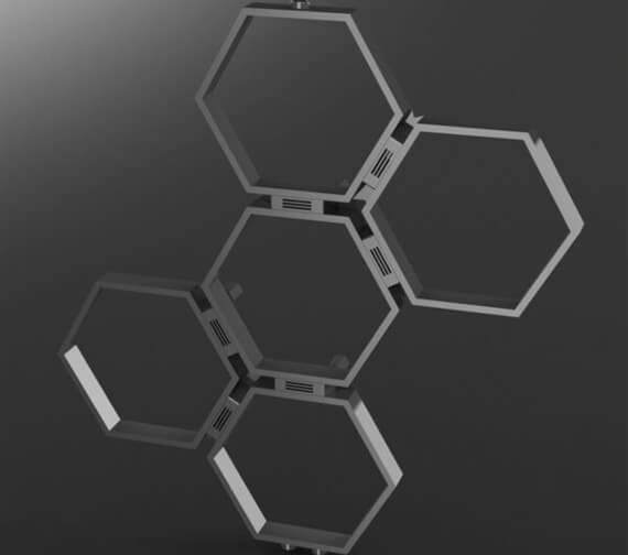Additional image for QS-V96068 Aeon Radiators - HON3S