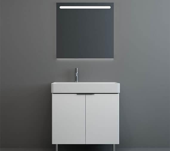 Additional image of IMEX Blade Two Door Floor Standing Cabinet Short Projection