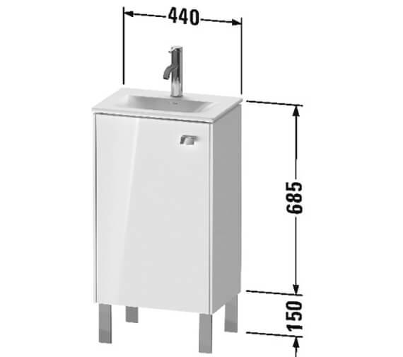 Technical drawing QS-V104376 / BR4508L1818
