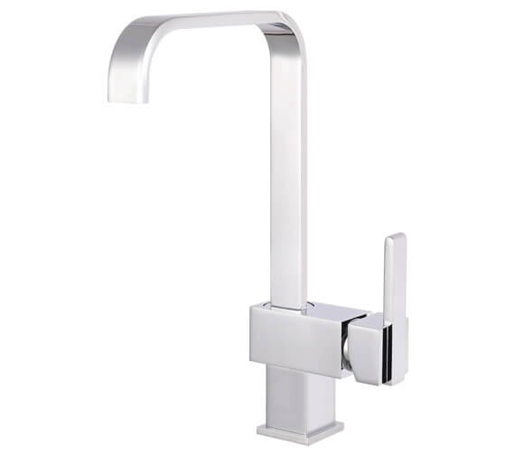 Nuie Square Side Action Kitchen Sink Mixer Tap