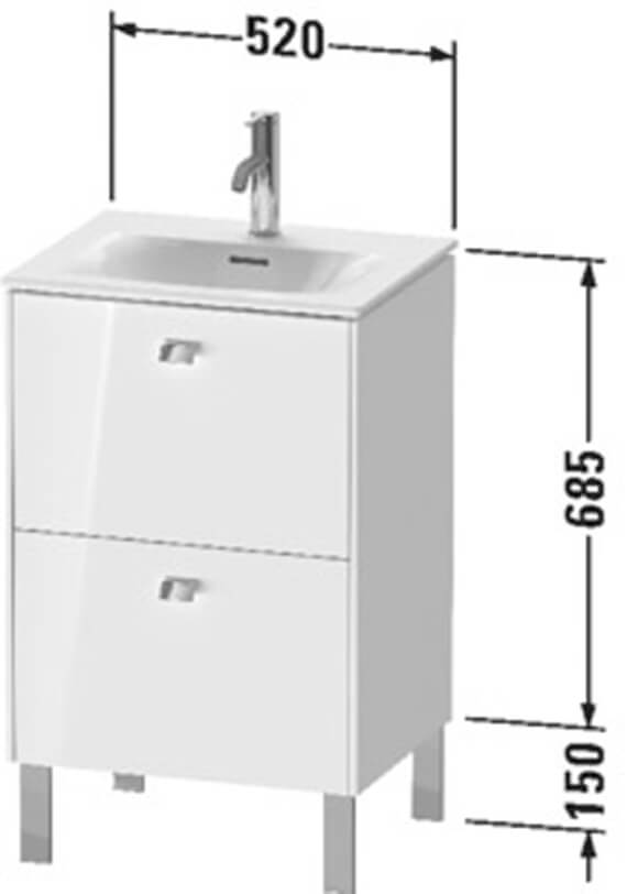 Technical drawing QS-V104385 / BR450901818