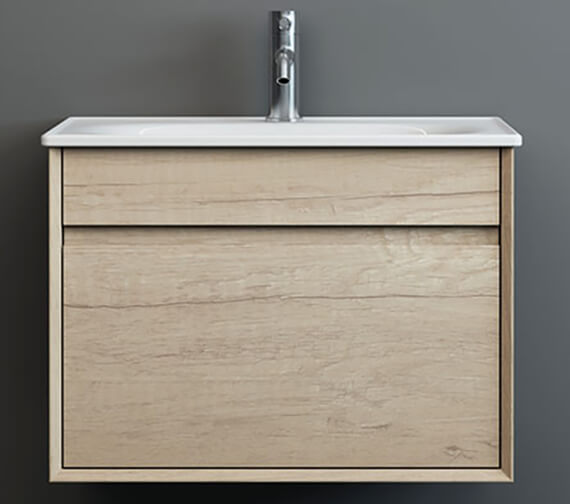 Alternate image of IMEX Alma Wall Hung Single Drawer Cabinet