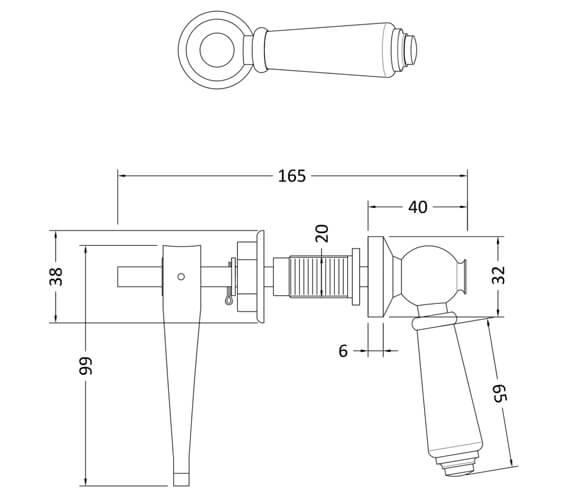 Technical drawing QS-V22183 / E370
