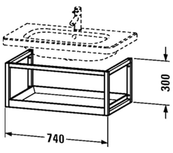 Technical drawing QS-V24951 / DS987100776