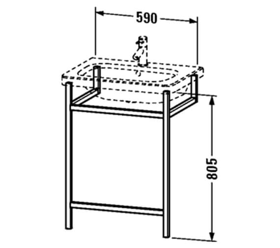 Technical drawing QS-V24959 / DS989107676