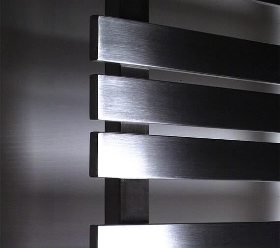 Additional image of Aeon Kaptan 500mm Wide Stainless Steel Towel Rail