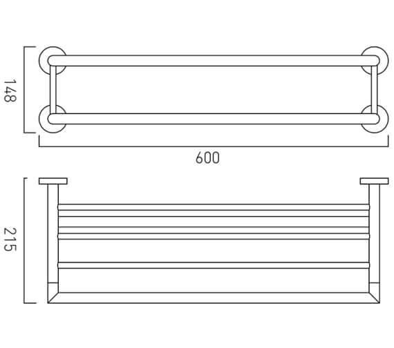 Technical drawing QS-V9402 / SPA-185B-C/P