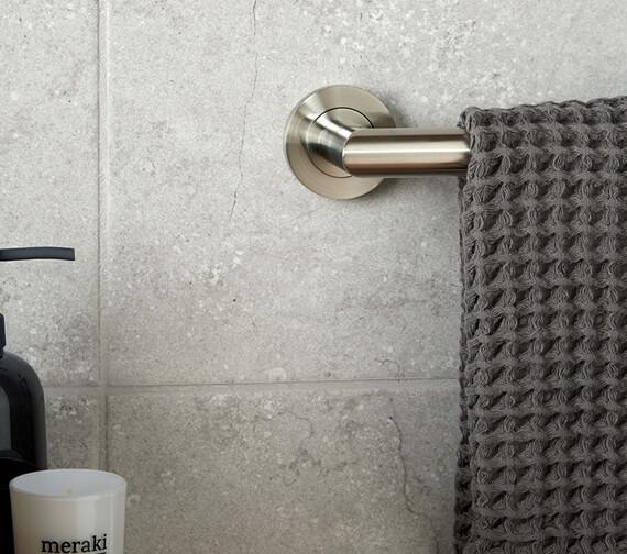 Additional image of Vado Spa Chrome Wall Mounted Towel Rail