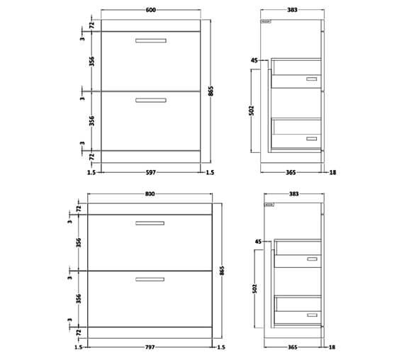 Technical drawing QS-V89277 / ATH034W