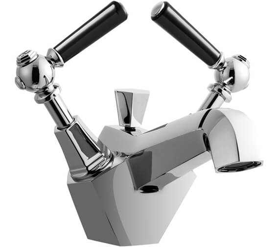 Additional image of Crosswater Waldorf Monobloc Basin Mixer Tap With Pop-Up Waste