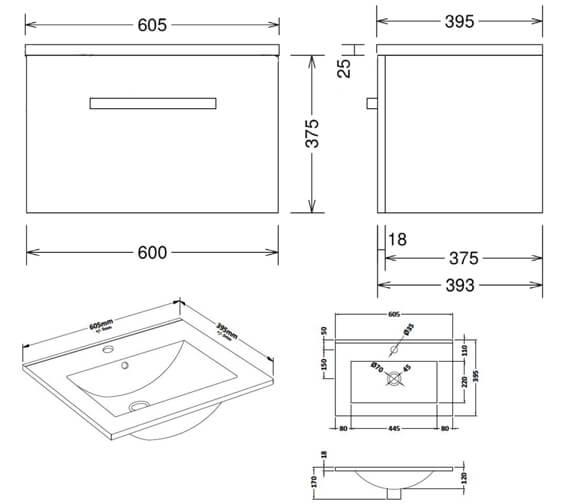 Technical drawing QS-V104420 / CAWMUSL1GW