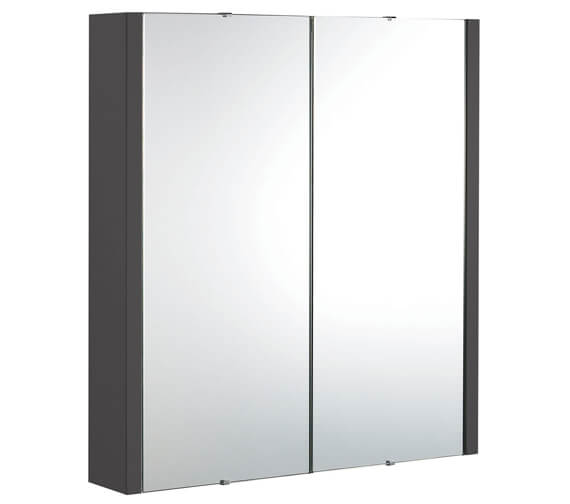 Additional image of Nuie Parade 600mm 2 Door Mirror Cabinet