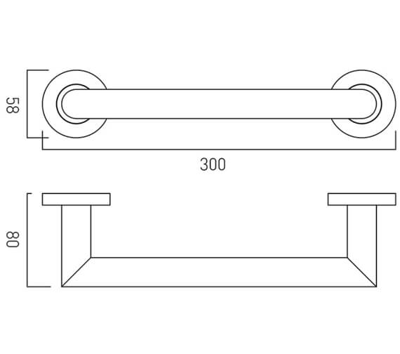 Technical drawing QS-V9407 / SPA-1801-30-C/P