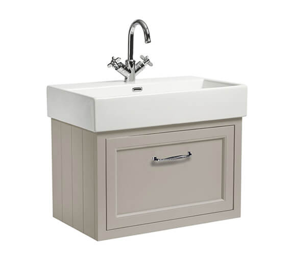 Alternate image of Roper Rhodes Hampton 700mm 1 Drawer Wall Mounted Unit With Basin
