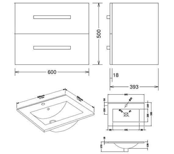 Technical drawing QS-V104431 / CAWMUSL2GW