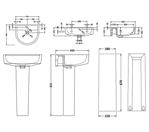 Additional image for QS-V26929 Nuie Bathroom - CPV001