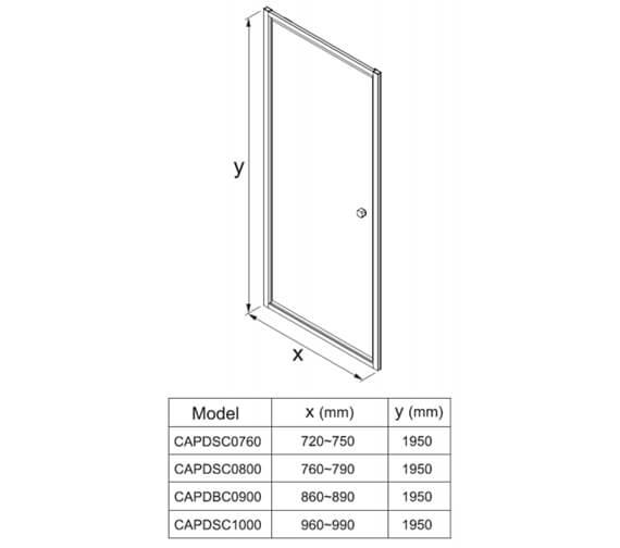 Technical drawing QS-V104409 / CAPDSC0760