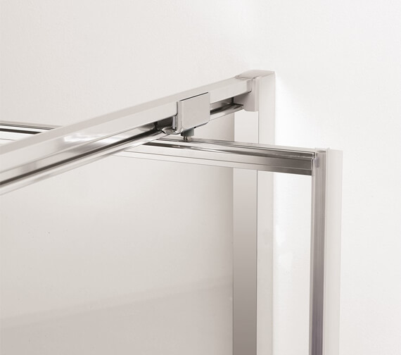 Additional image of Crosswater Clear 6 1950mm Height Pivot Door