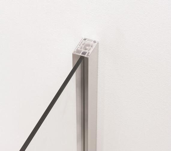 Alternate image of Crosswater Clear 6 1950mm Height Pivot Door