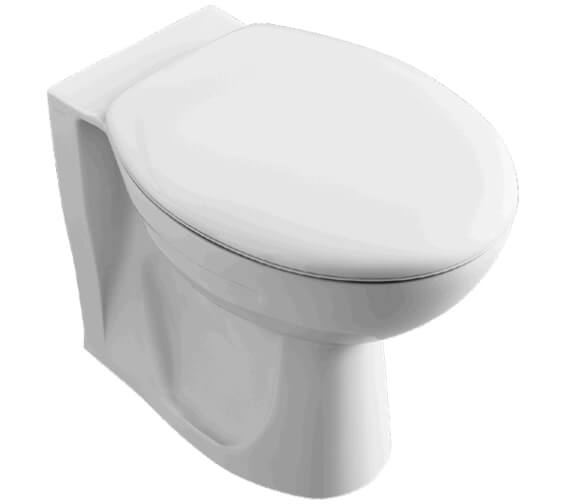 Lecico Atlas 520mm Projection Back To Wall WC Pan With Seat