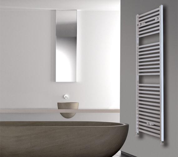 Lazzarini Todi Square Tube Design 500mm Width Towel Warmer
