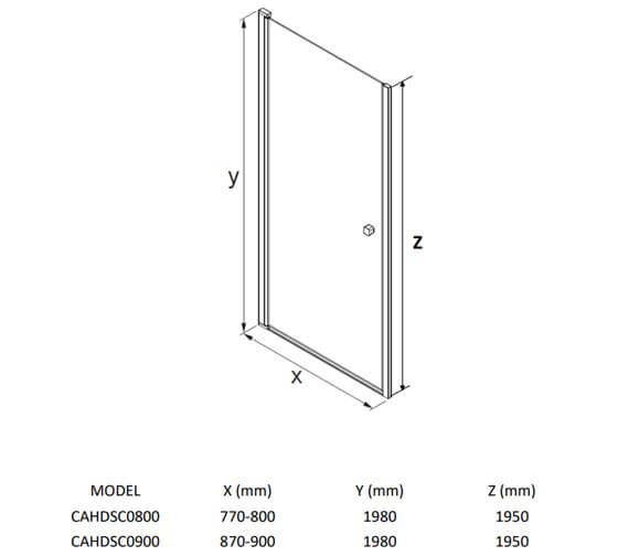 Technical drawing QS-V104481 / CAHDSC0800