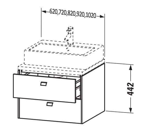 Technical drawing QS-V104399 / BR511501818