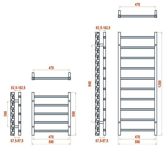 Technical drawing QS-V20831 / RND-SRN5050A