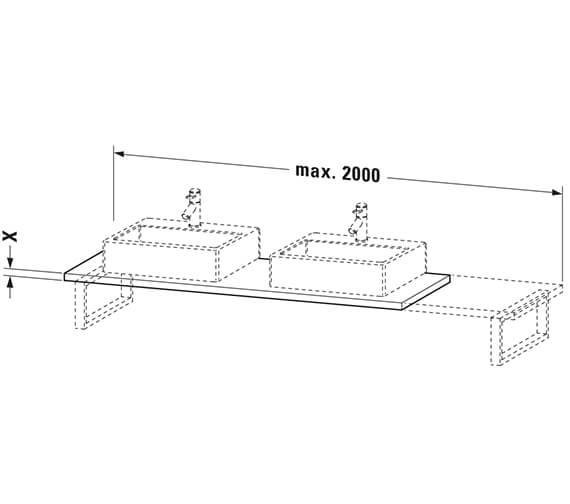 Technical drawing QS-V102626 / BR107C01818