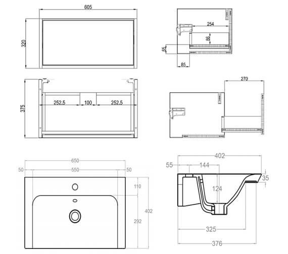 Technical drawing QS-V104401 / AN6032DMO