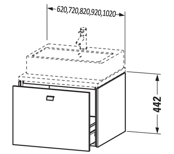 Technical drawing QS-V104398 / BR511001818