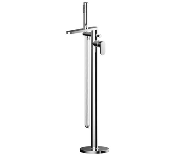 Nuie Binsey Freestanding Bath Shower Mixer Tap With Kit