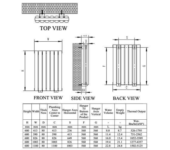 Technical drawing QS-V76222 / RNS-NRX607PD