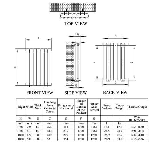 Technical drawing QS-V76211 / RNS-NRX1805PD