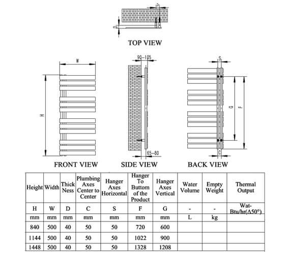 Technical drawing QS-V81225 / RNS-RC5084