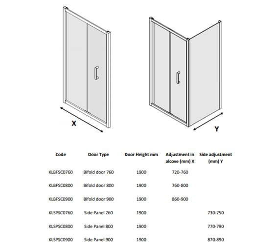 Technical drawing QS-V104483 / KLBFSC0760