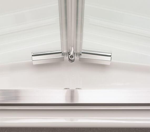 Additional image of Crosswater Kai 6 1900mm Height Bi-Fold Door